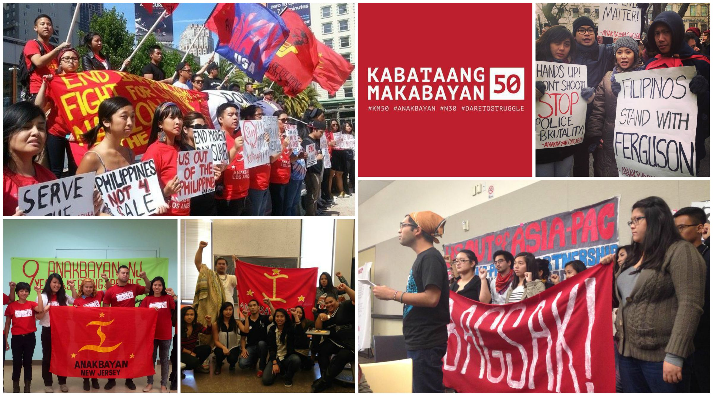 Anakbayan chapters across the US
