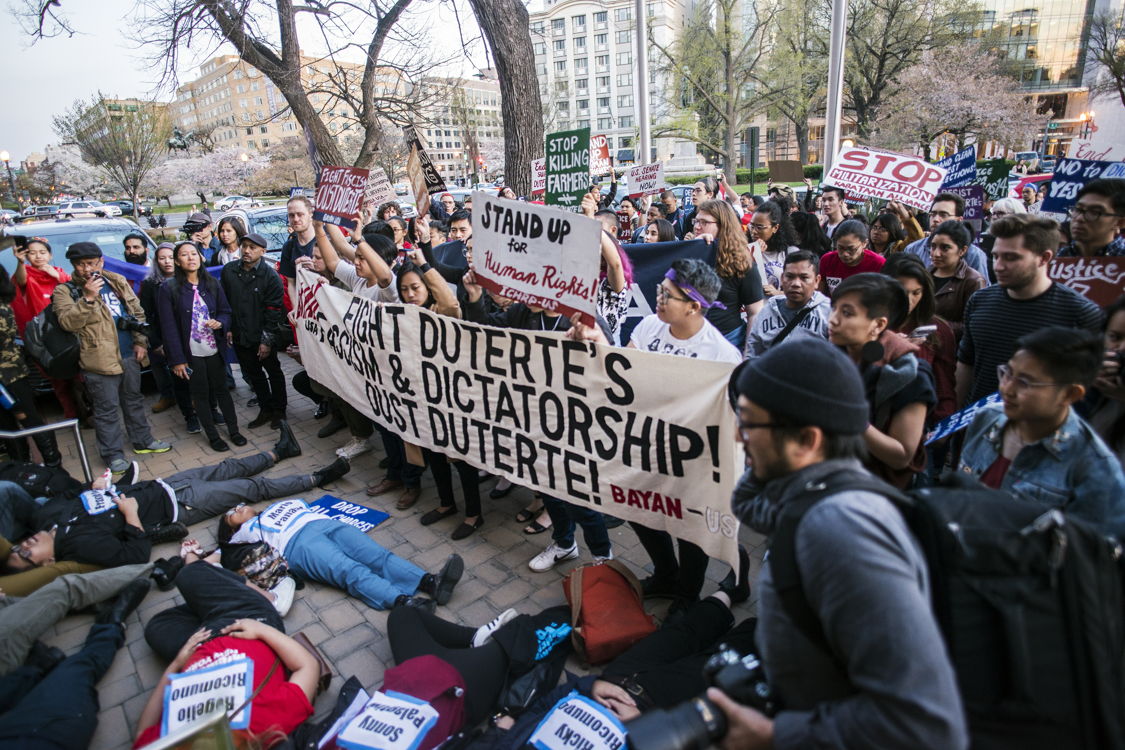 Filipino Americans Stand Up for Human Rights in the